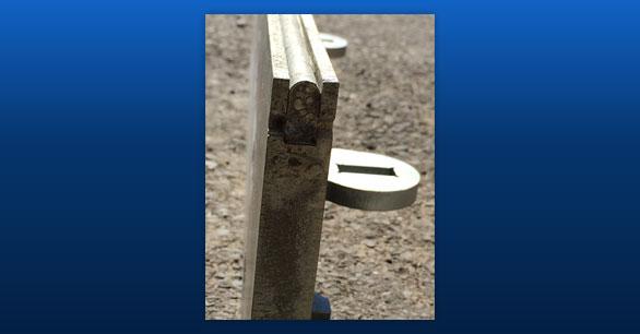 Carbide cutting edges last longer than a regular steel blade.