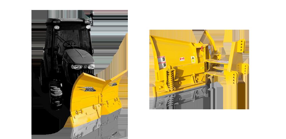 SidemaxxX Snow Plow
